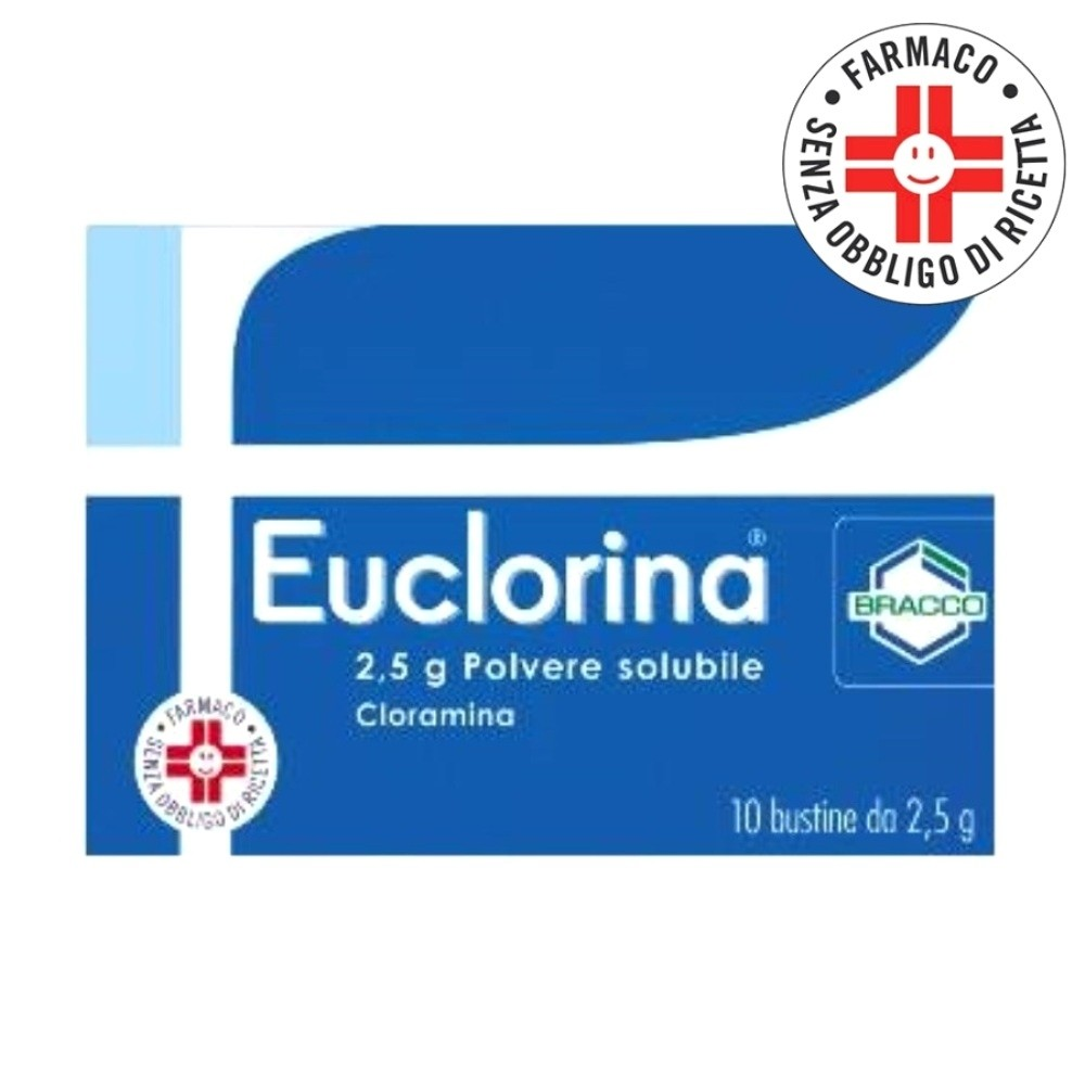 Euclorina* Polvere solubile 10 bustine 2,5 gr