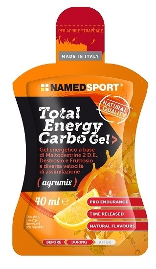 Named Total energy carbo gel agrumix 40 ml