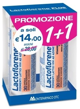 Montefarmaco Lactoflorene Plus bipack 30 + 30 capsule