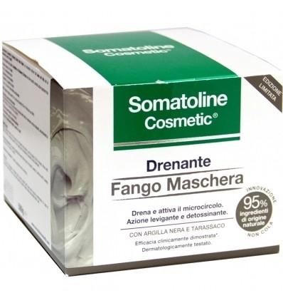 Somatoline Cosmetic  Drenante Fango Maschera Corpo 500g