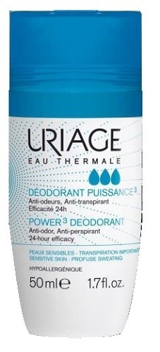 Uriage Eau  Thermale Deodorant Puissance3 Power3 roll-on 50ml