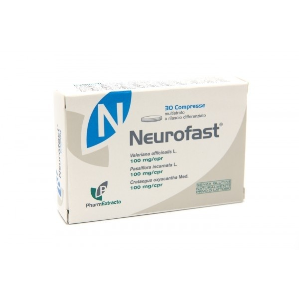 PharmExtracta Neurofast 30 compresse 30g