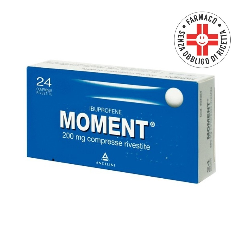 Moment* 24 Compresse Rivestite 200 mg
