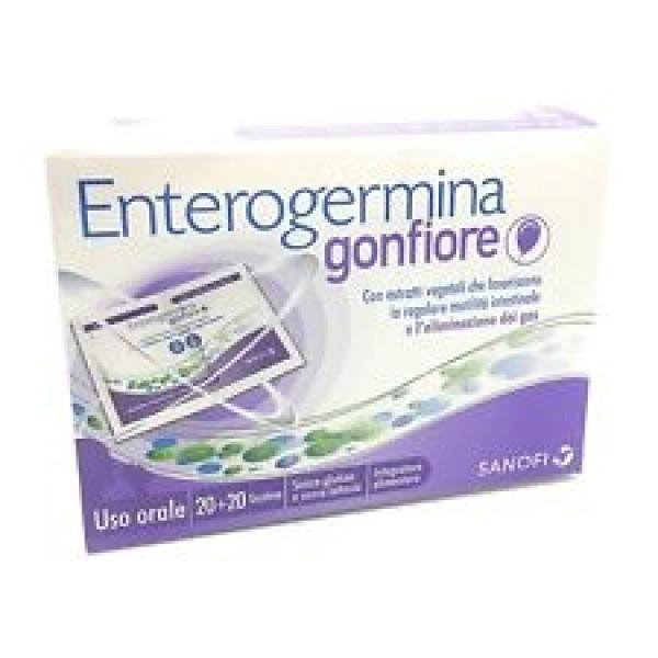 Sanofi Enterogermina Gonfiore 20 + 20 bustine