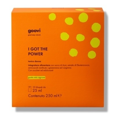 The Good Vibes Company Goovi I Got The Power Tonico Donna 10x25ml