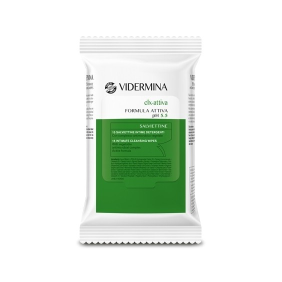 Vidermina clx-attiva 15 salviettine
