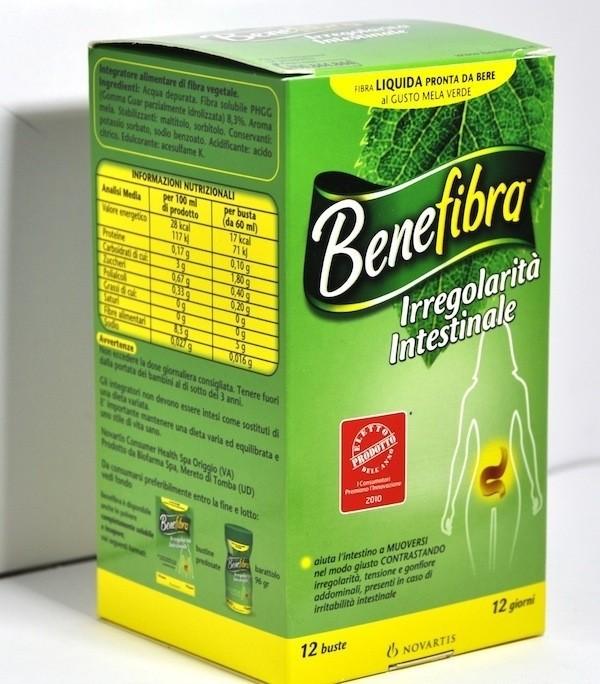 Novartis Benefibra fibra liquida da bere 12 buste da 60 ml