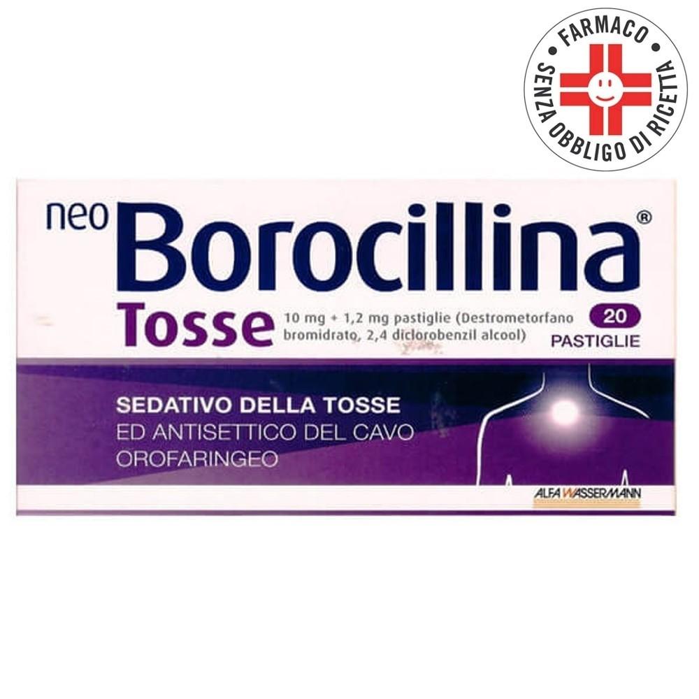 Neoborocillina Tosse* 20 compresse orosolubili 10mg+1,2mg