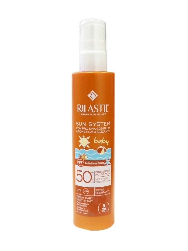 Rilastil Sun System Baby Emulsione Spray Spf 50+ 200ml