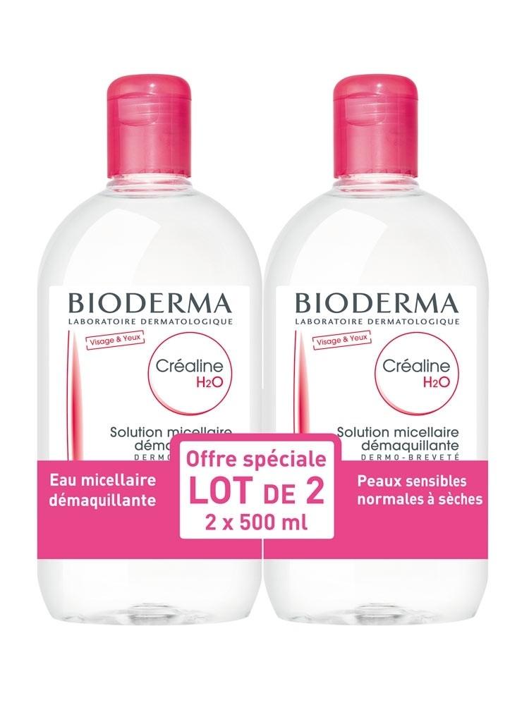 Bioderma Sensibio H2O Acqua Micellare 2x500ml Bipack