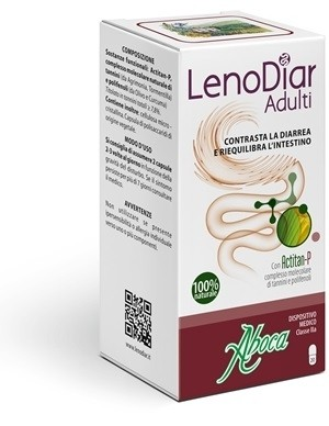 Aboca Lenodiar adulti 20 capsule 500mg