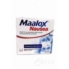 Maalox nausea 20 compresse effervescenti 5 mg