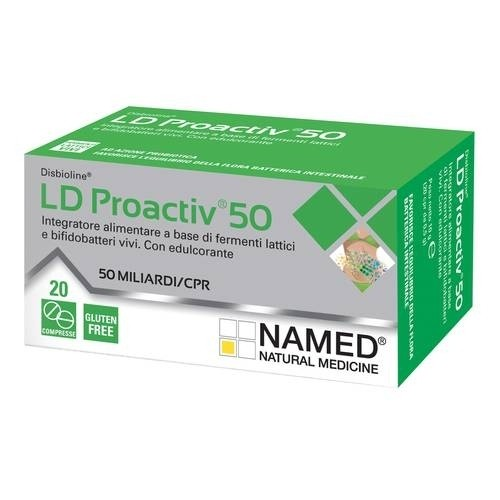 Named LD Proactiv 50 20 compresse masticabili