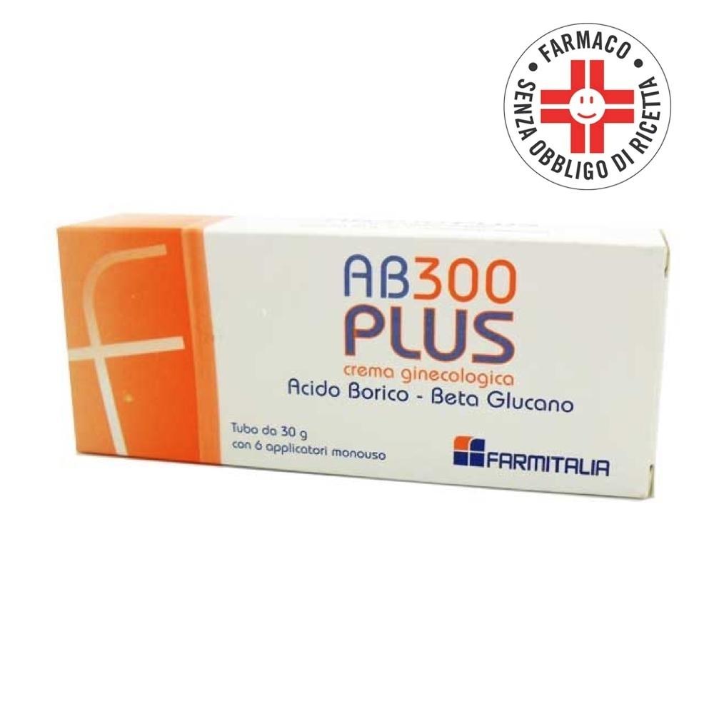 Ab 300 Plus* Crema ginecologica + 6 applicatori 30 gr