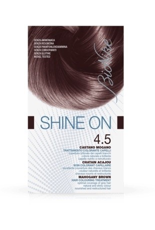 Bionike Shine On Trattamento Colorante Capelli - 4.5 Castano Mogano -