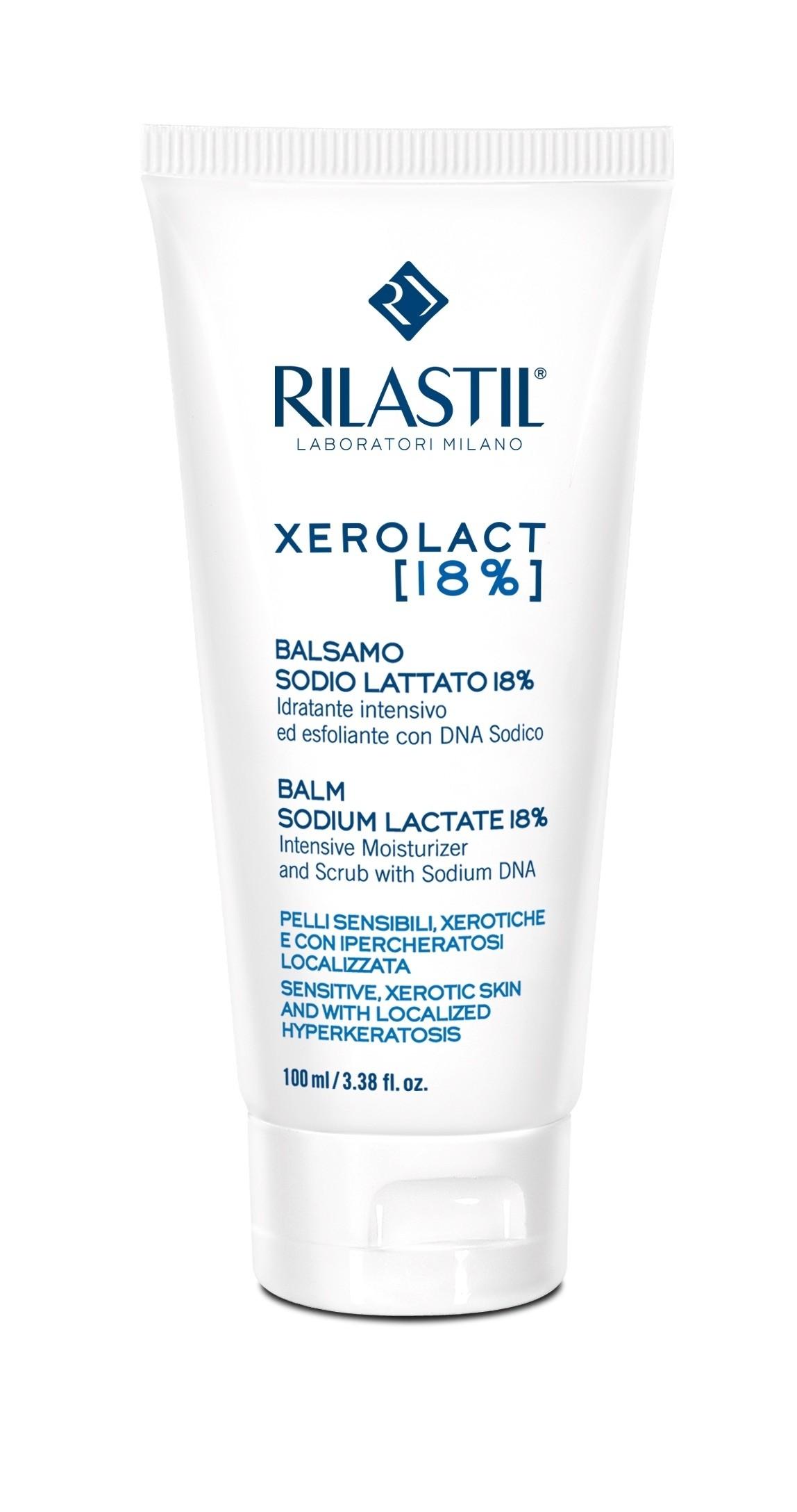 Rilastil Xerolact[E] Balsamo Sodio Lattato 18% 100ml