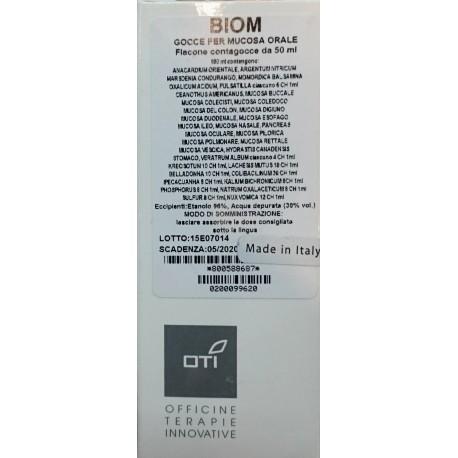 Biom Gocce Idroalcoliche Per Mucosa Orale 50ml