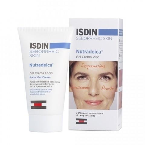Isdin Seborheic Skin Nutradeica Gel crema viso 50ml