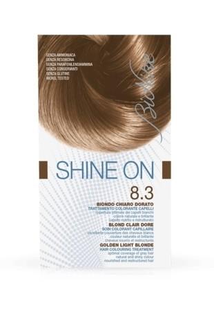 Bionike Shine On Trattamento Colorante Capelli - 8.3 Biondo Chiaro Dorato -