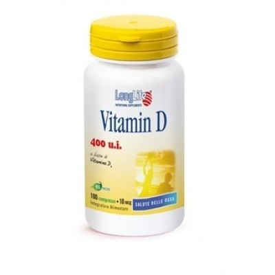 Longlife Vitamina D 400 u.i 100 compresse