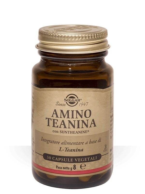 Solgar Amino Teanina 30 capsule vegetali