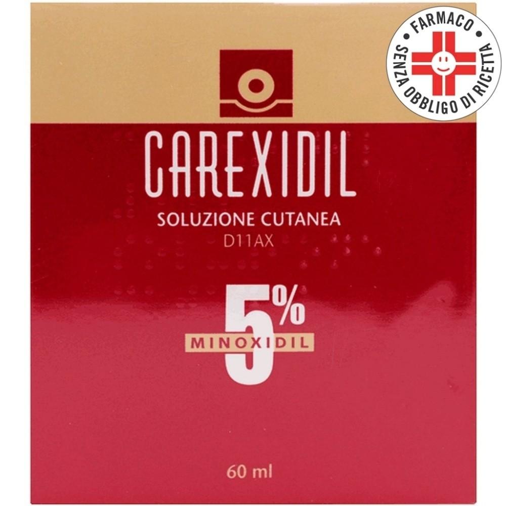 Carexidil* soluzione cutanea 60ml 5%