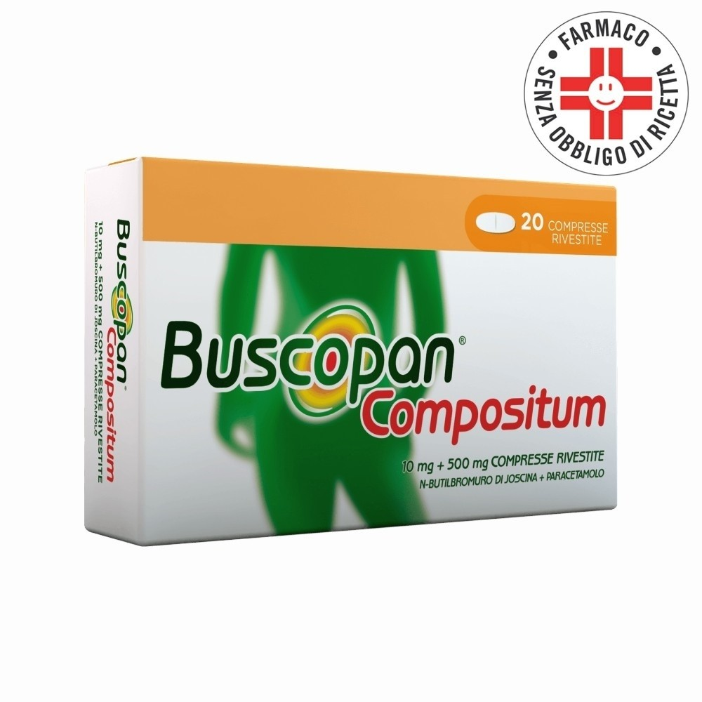 Buscopan Compositum*20 Compresse Rivestite