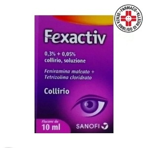 Sanofi Fexactiv Collirio 10ml