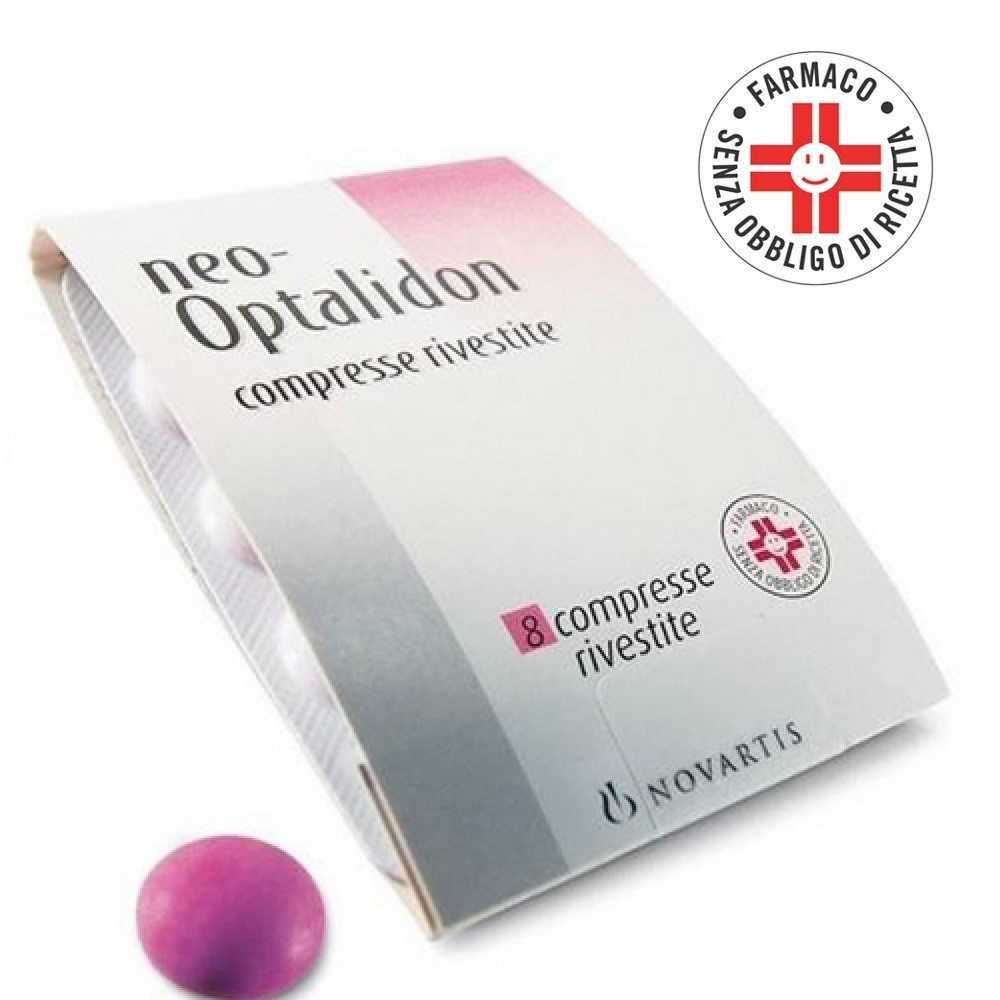 Neo optalidon* 8 compresse rivestite 200mg + 125mg + 25mg