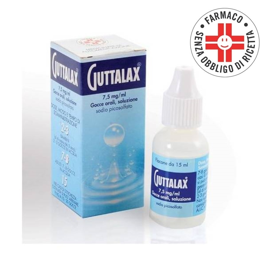 Guttalax* Gocce Orali 15ml 7,5mg/ml