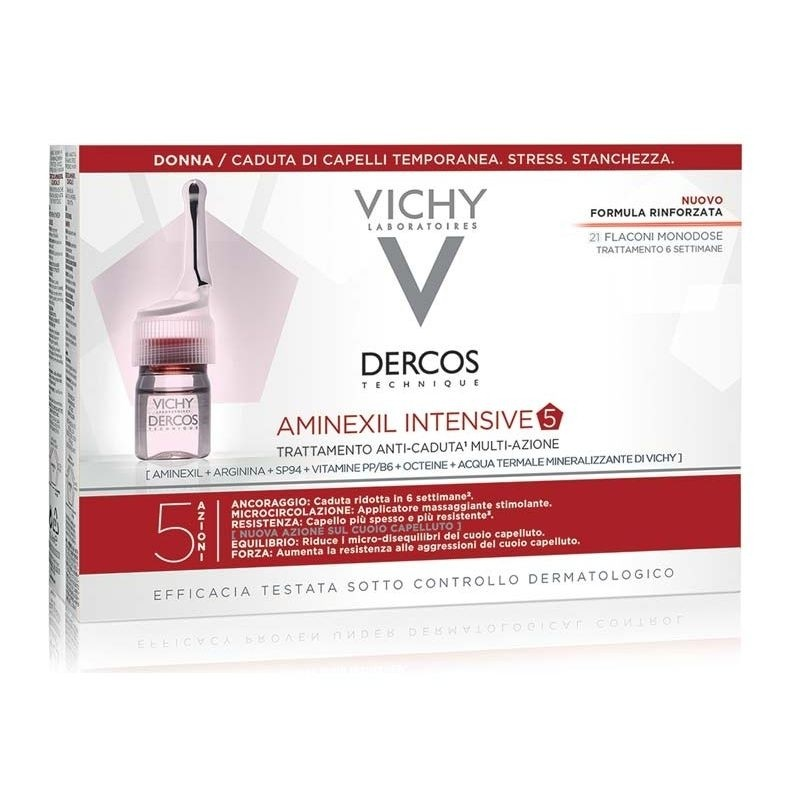 Vichy Dercos Aminexil Intensive donna 21 fiale
