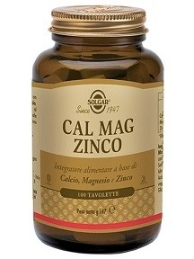 Solgar Cal mag zinco 100tavolette