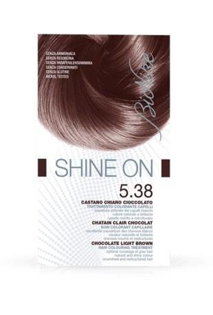 Bionike Shine On Trattamento Colorante Capelli - 5.38 Castano Chiaro Cioccolato -