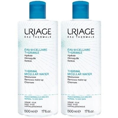 Uriage Acqua Termale Micellare - Cute normale e secca Bipack 2x500ml