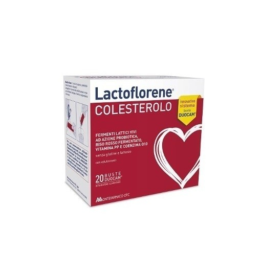 Montefarmaco Lactoflorene Colesterolo 20 bustine