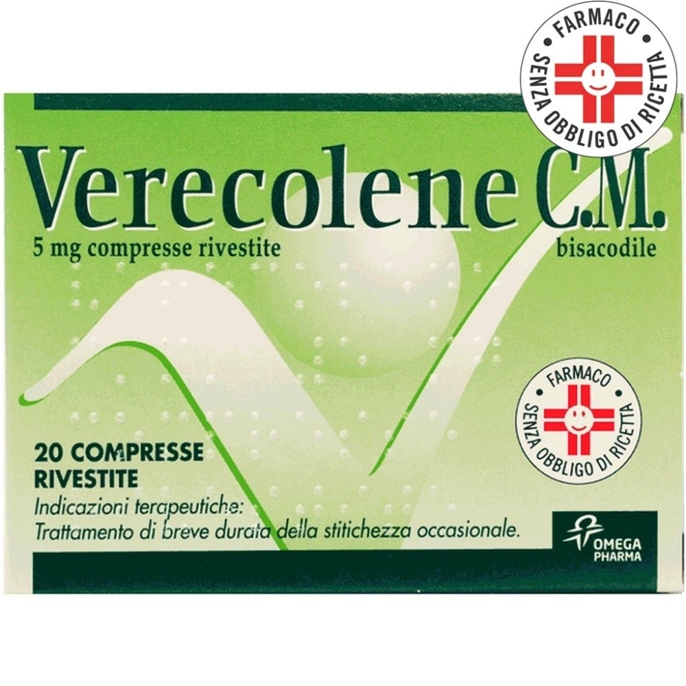 Verecolene C.M.* 20 Compresse Rivestite 5mg