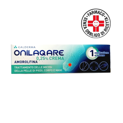 Galderma Onilaqare Crema Dermatologica 0,25% Amorolfina 20gr
