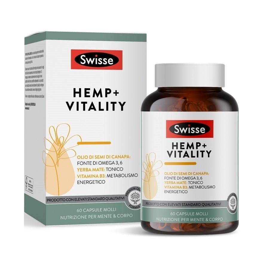 Swisse Hemp+ Vitality 60 capsule