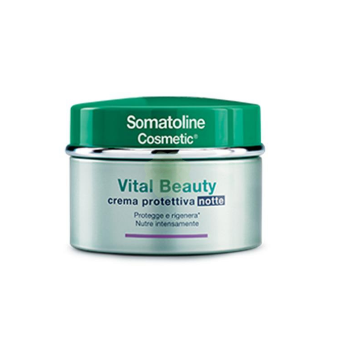Somatoline Cosmetic Vital Beauty Crema Protettiva Notte 50ml