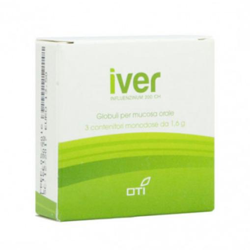 Oti Iver Influenzinum 200Ch Globuli per Mucosa Orale 3 Fiale