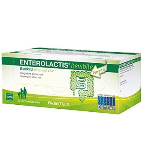 Sofar Enterolactis 12 flaconcini 10 ml