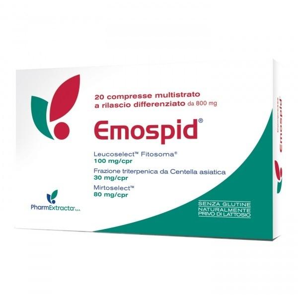 Pharmextracta Emospid 20 compresse