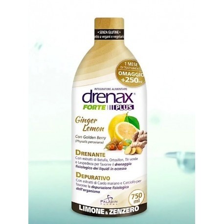 Drenax Forte Ginger Lemon 750 ml