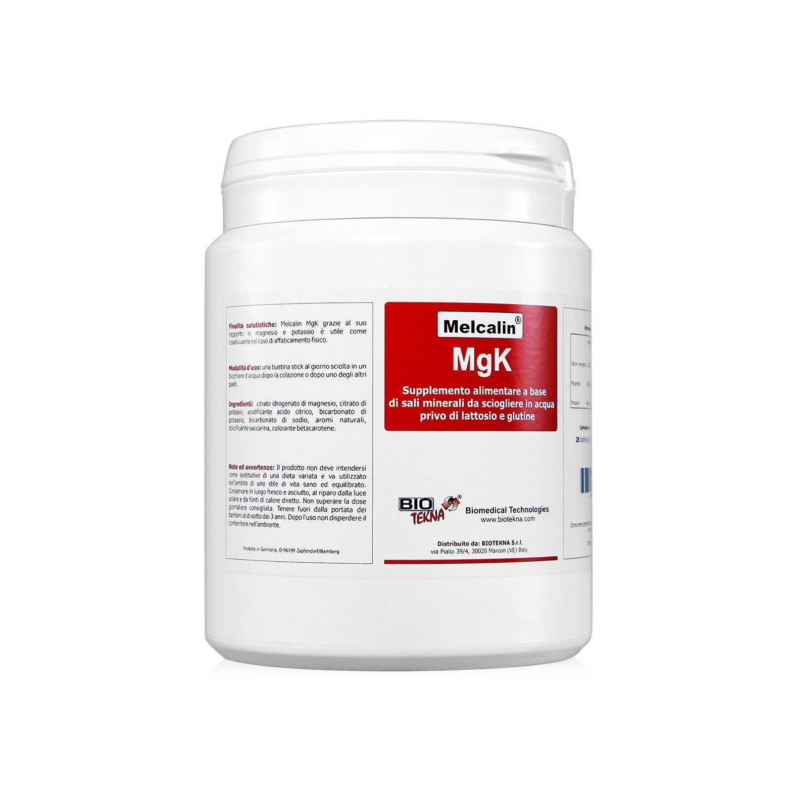 Biotekna Melcalin MgK Integratore Alimentare  28 bustine