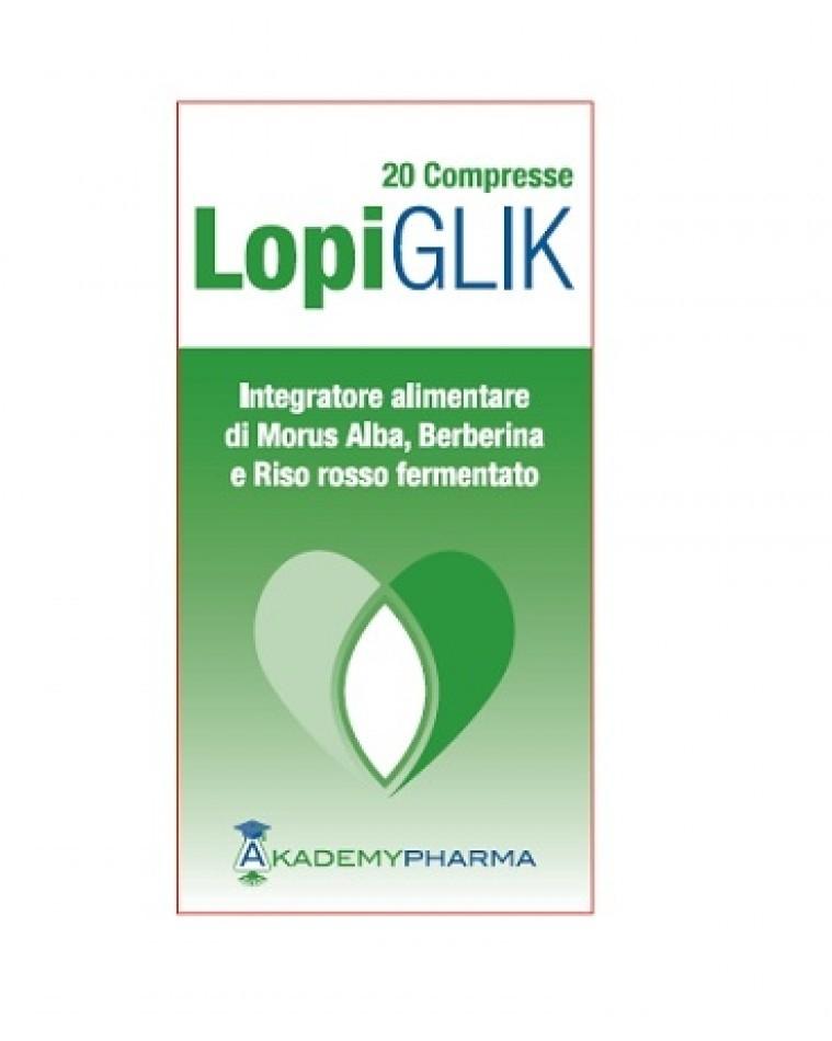Akademy Pharma Lopi Glik 20 compresse
