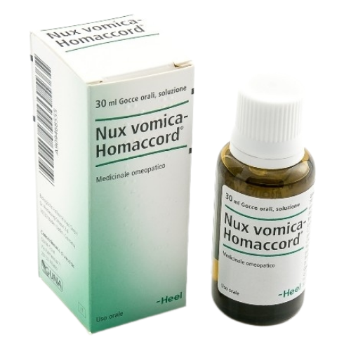 Guna Heel Nux vomica Homaccord Gocce 30 ml