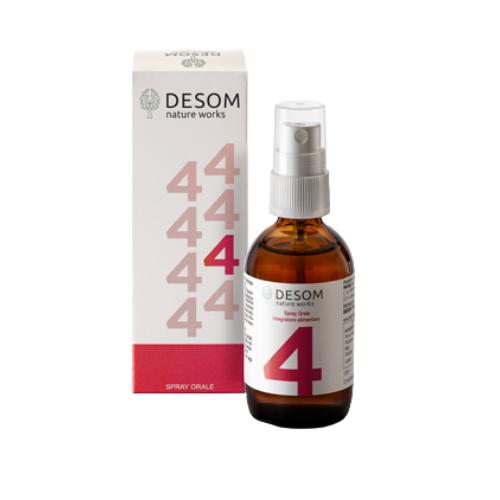 Desom 4 Integratore Digestione spray 50 ml