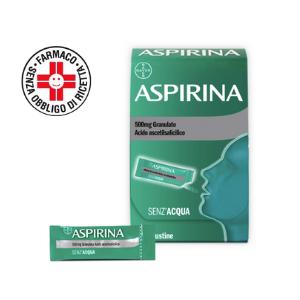 Bayer Aspirina*10 bust grat 500 mg