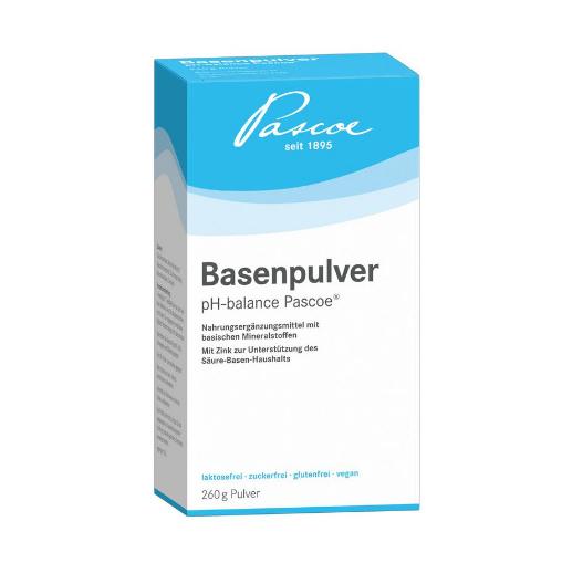 Named Basenpulver-Pascoe® Integratore Alimentare di Sali Carbonati e Zinco 260 g di polvere