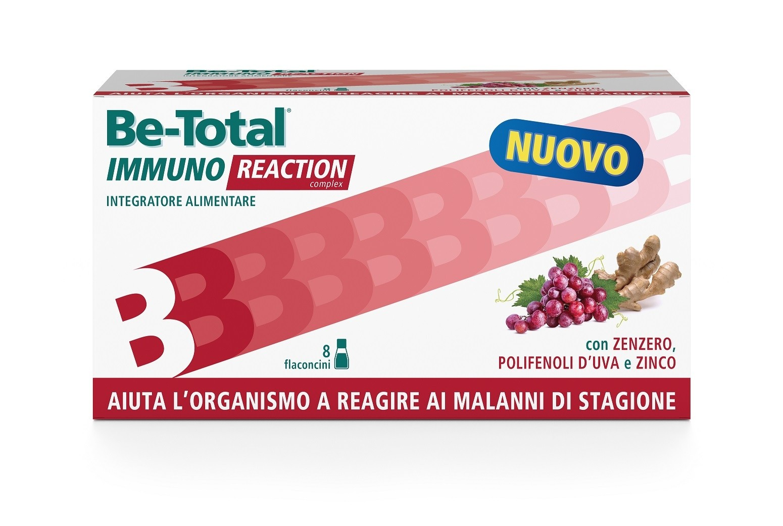 Be-Total Immuno Reaction Complex integratore alimentare 8 flaconcini